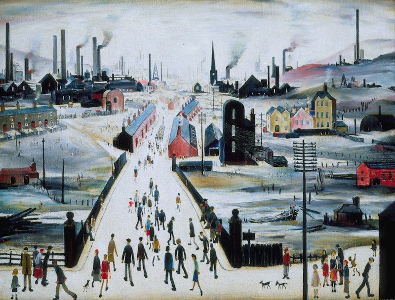LS Lowry The Canal Bridge