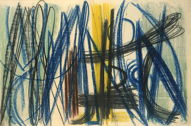 Hans Hartung Untitled