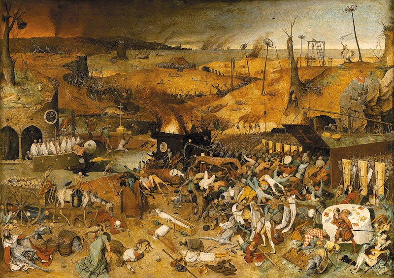 Pieter Bruegel the Elder: <i>The Triumph of Death</i>, 1562–1563