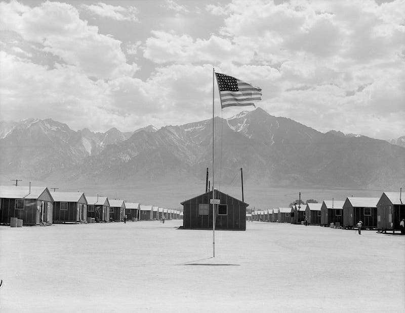 Lange Japanese internment camp 10
