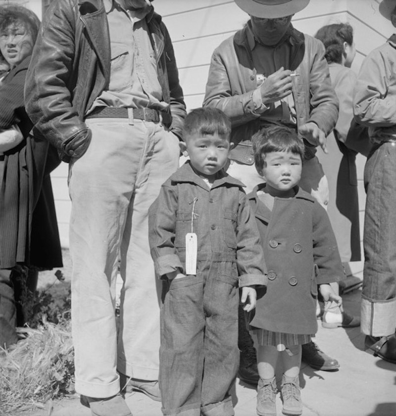 Lange Japanese internment camp 23
