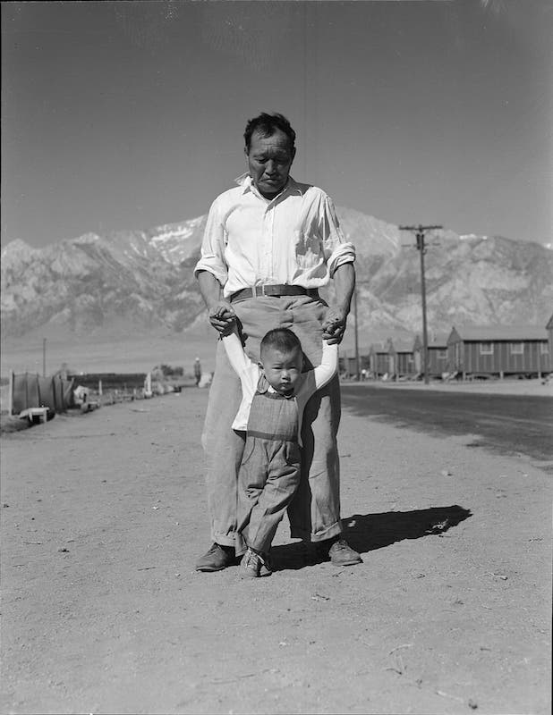 Lange Japanese internment camp 3