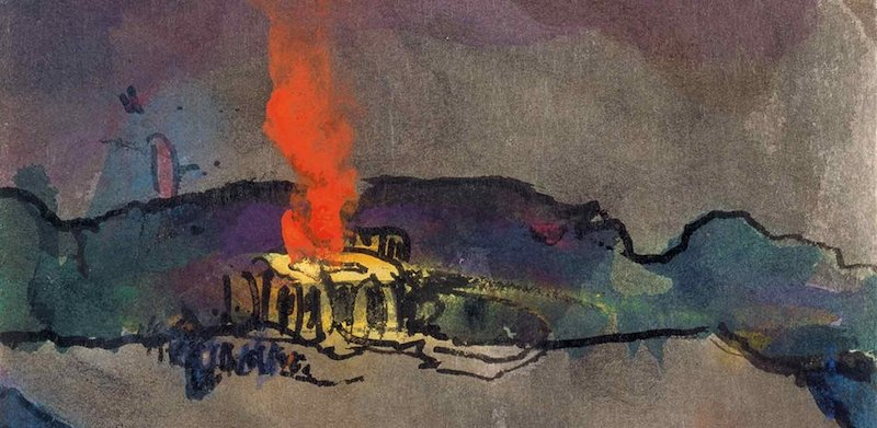 Emil Nolde Holy Sacrifice