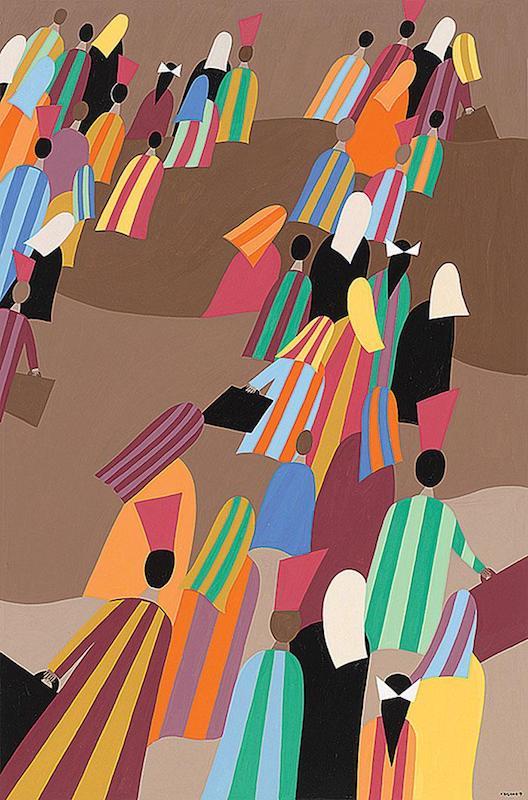 Helen Zughaib Syrian Migration Series 3