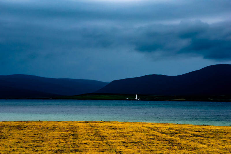 Dark skies over Graemsay 2019