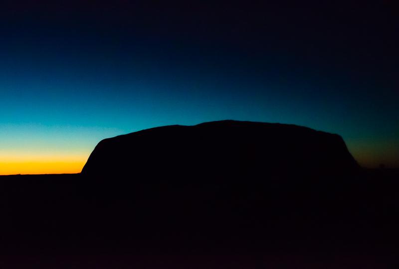 Uluru at first light