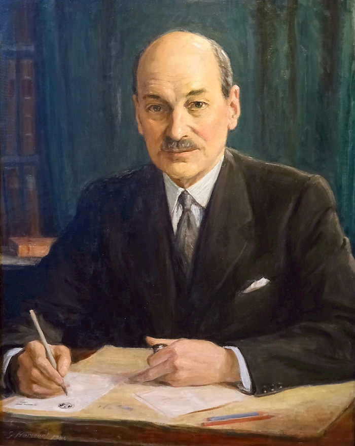 George Harcourt, Clement Attlee