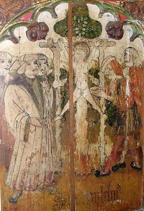 Death of William of Norwich, Holy Trinity church, Loddon, Norfolk